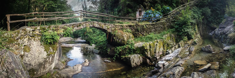 Märchenhafte Landschaft beim Riale di Mulitt