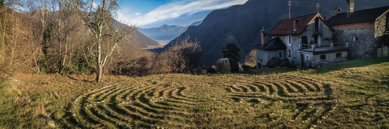 Blick von Pila auf Locarno