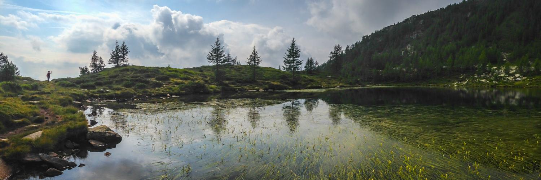 Lago dei Saléi im wilden Vergeletto