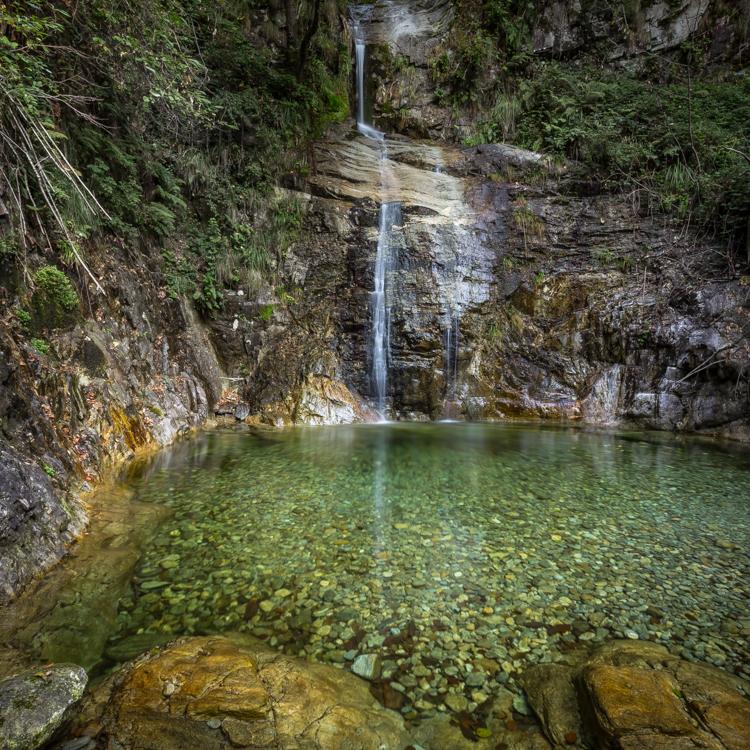 Wasserfall Riale di Mulitt